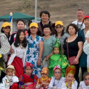 Участники гуннского фестиваля