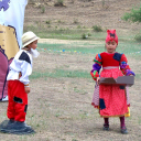 Монгольские дети сказка о золотой рыбке на рус.яз
