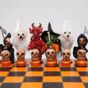Шахматный набор к Хэллоуину