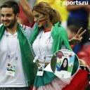 Болельщица из Ирана