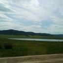Второе Алтанское озеро, так его называют. На картах оно называется Чив... , но жители особо не знают этого названия.