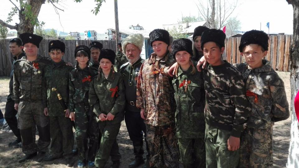 Победители - команда казачат Селендумской школы