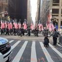 Военный парад в Нью-Йорке. Полицейские