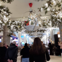 Рождественская иллюминация в торговом центре