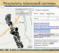 Геопортал Республики Бурятия - особенности его функционирования и эксплуатации