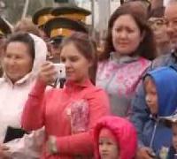 Открытие памятника Николаю II